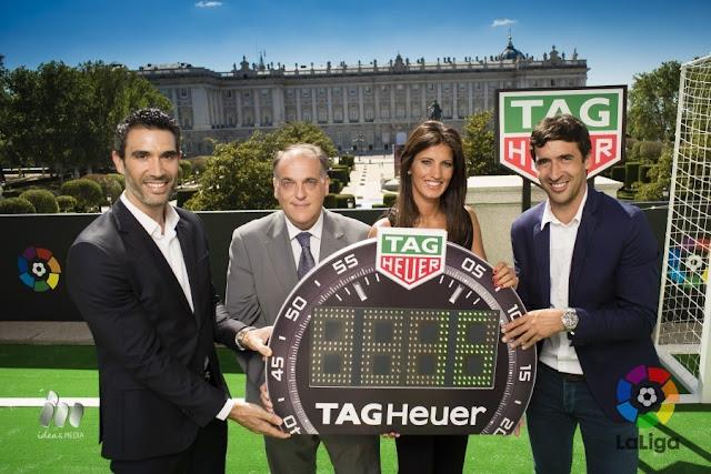 TAG Heuer, nuevo cronometrador y patrocinador oficial de LaLiga
