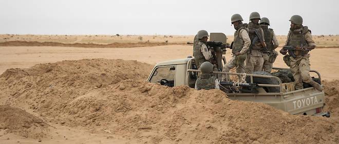 جيش الإحتلال المغربي يطلق وابل من الرصاص على وحدة عسكرية موريتانية بمنطقة بولنوار.