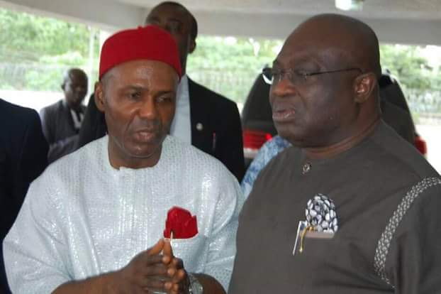 My visit to Abia today is historic -@Dr_OgbonnayaOnu
