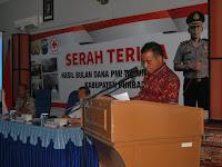 Sumbangan Bulan Dana PMI Purbalingga Tahun 2015 Terkumpul Rp 533 Ribu, Bupati Tasdi Minta Agar Ditingkatkan