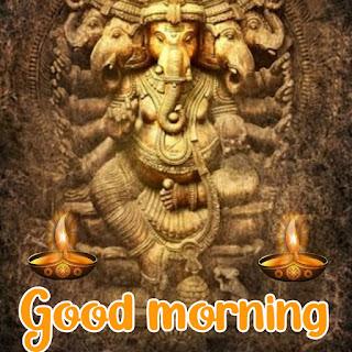 good morning ganesha images