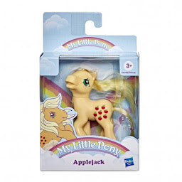 My Little Pony Applejack Retro Rainbow Pony Brushable