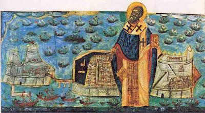 Ανάμνηση Θαύματος Αγίου Σπυρίδωνα   Εκδίωξη των Αγαρηνών το 1715   Μνήμη στις 11 Αυγούστου