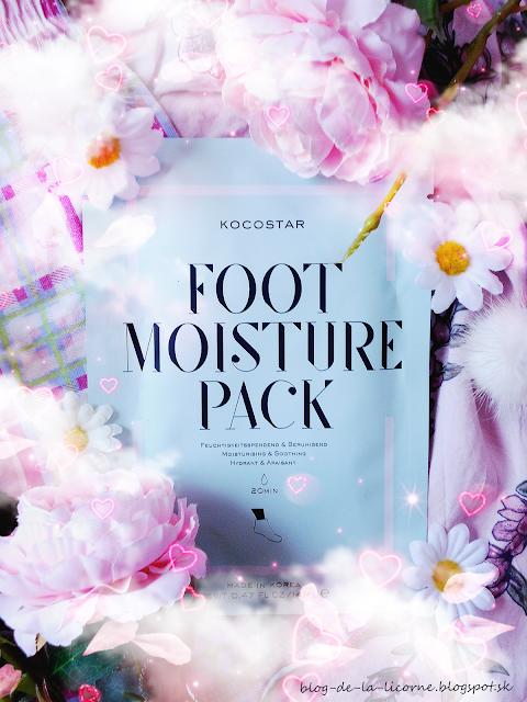 Kocostar Foot Moisture Pack maska na nohy recenzia