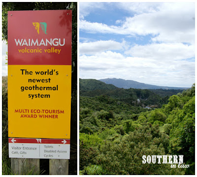 Waimangu Volcanic Valley New Zealand
