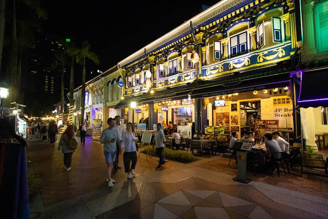 Bussorah street-Quartiere arabo-Singapore