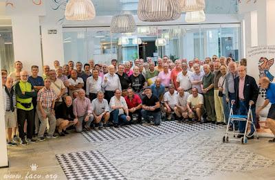 Ajedrecistas participantes en el Campeonato de España de Veteranos 2018