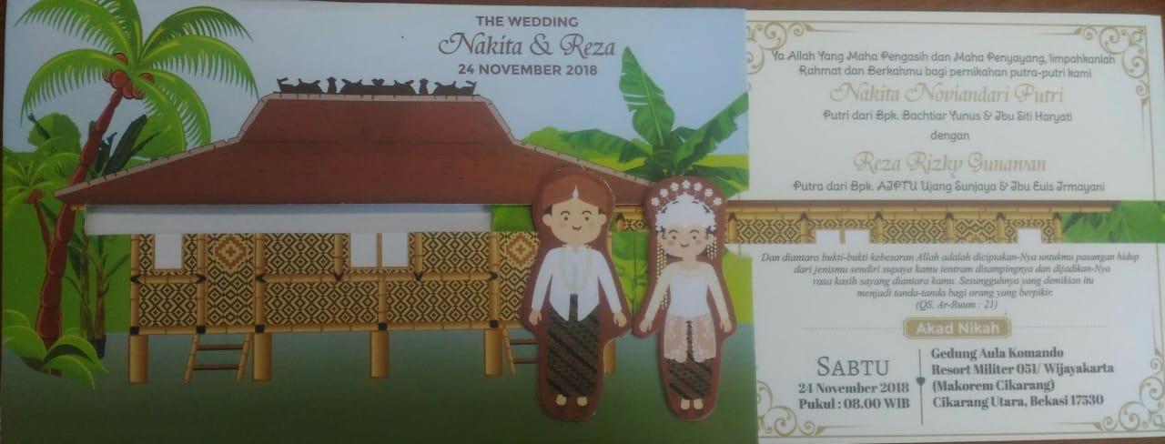 Contoh Desain Undangan Pernikahan Paling Keren Yang Jaman ...