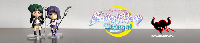 Review de las Figuarts Mini Sailor Saturn y Sailor Pluto  de Sailor Moon Eternal - Tamashii Nations