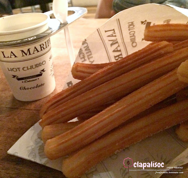 Classic Churros con Chocolate