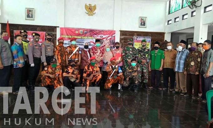Deklarasi Kampung Siaga Covid-19 Desa Sikasur Belik Kab. Pemalang