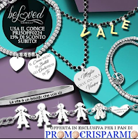 Logo Beloved Gioielli per i fan di Promo€Risparmio:in esclusiva speciale sconto 15% con acquisto minimo...