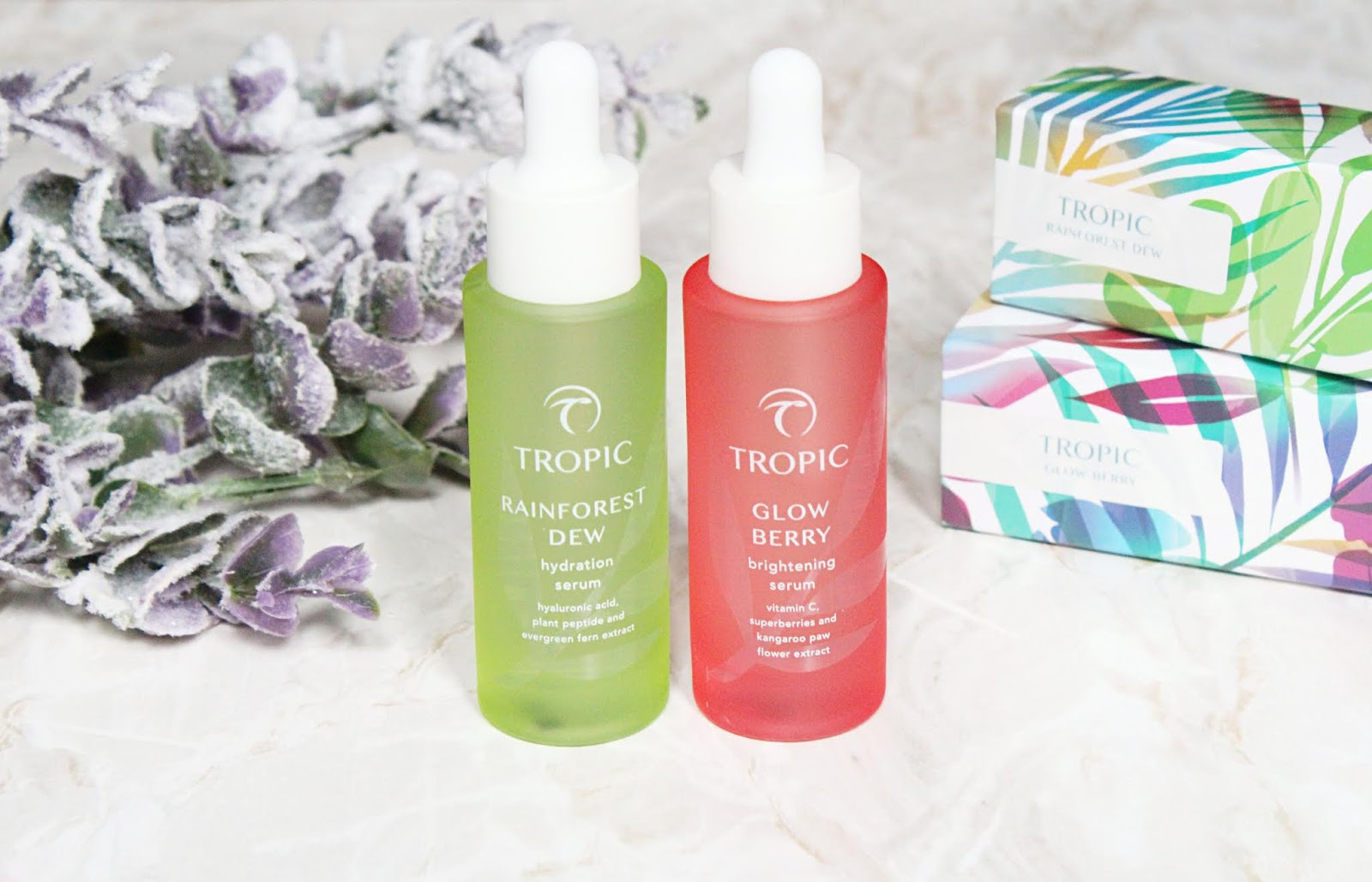 New Serums From Tropic Skincare