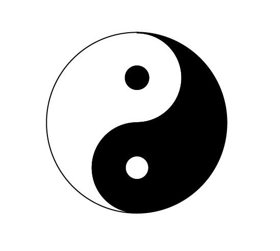 Taiji Symbol in Adobe Illustrator