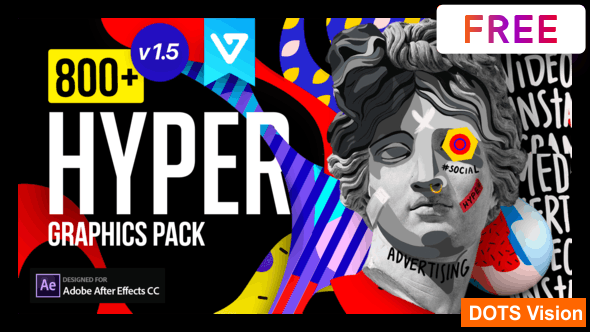 Hyper - Graphics Pack - Free Download After Effects Templates