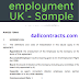 Sample contracts of employment uk - Download, print & edit in word
