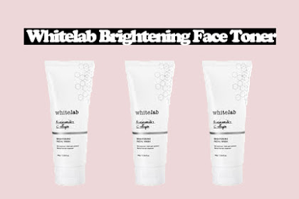 Review Whitelab Brightening Facial Wash
