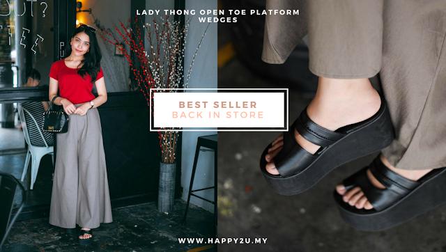 Shopping Kasut Online di happy2u.my