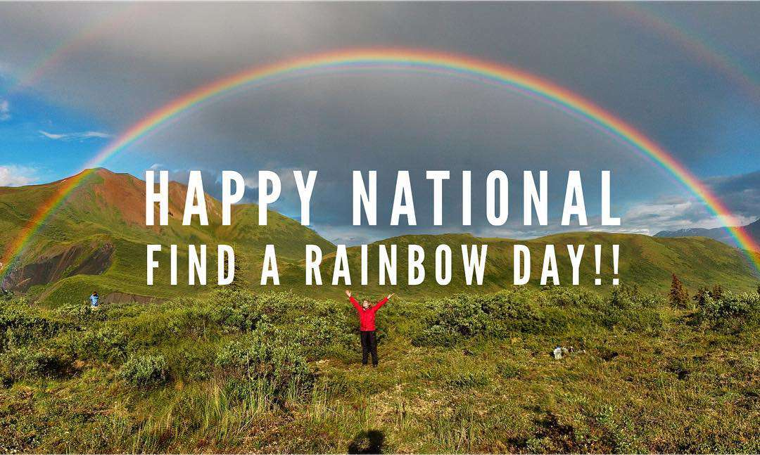 National Find a Rainbow Day Wishes Photos