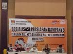 KPU : Sosialisasi Persiapan Kampanye Pemilihan Wali Kota dan Wakil Wali Kota Samarinda