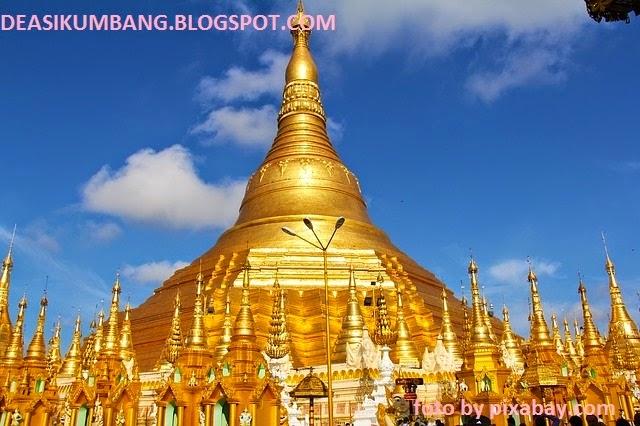 Wisata ke Shwedagon | Pagoda Emas di Myanmar
