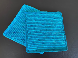 Simple stitch, tunesisk hækling, tunesian crochet, tutorial