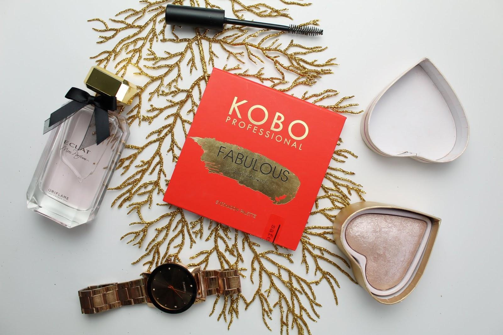 Kobo Professional, Fabulous Eyeshadow Palette by Daniel Sobieśniewski