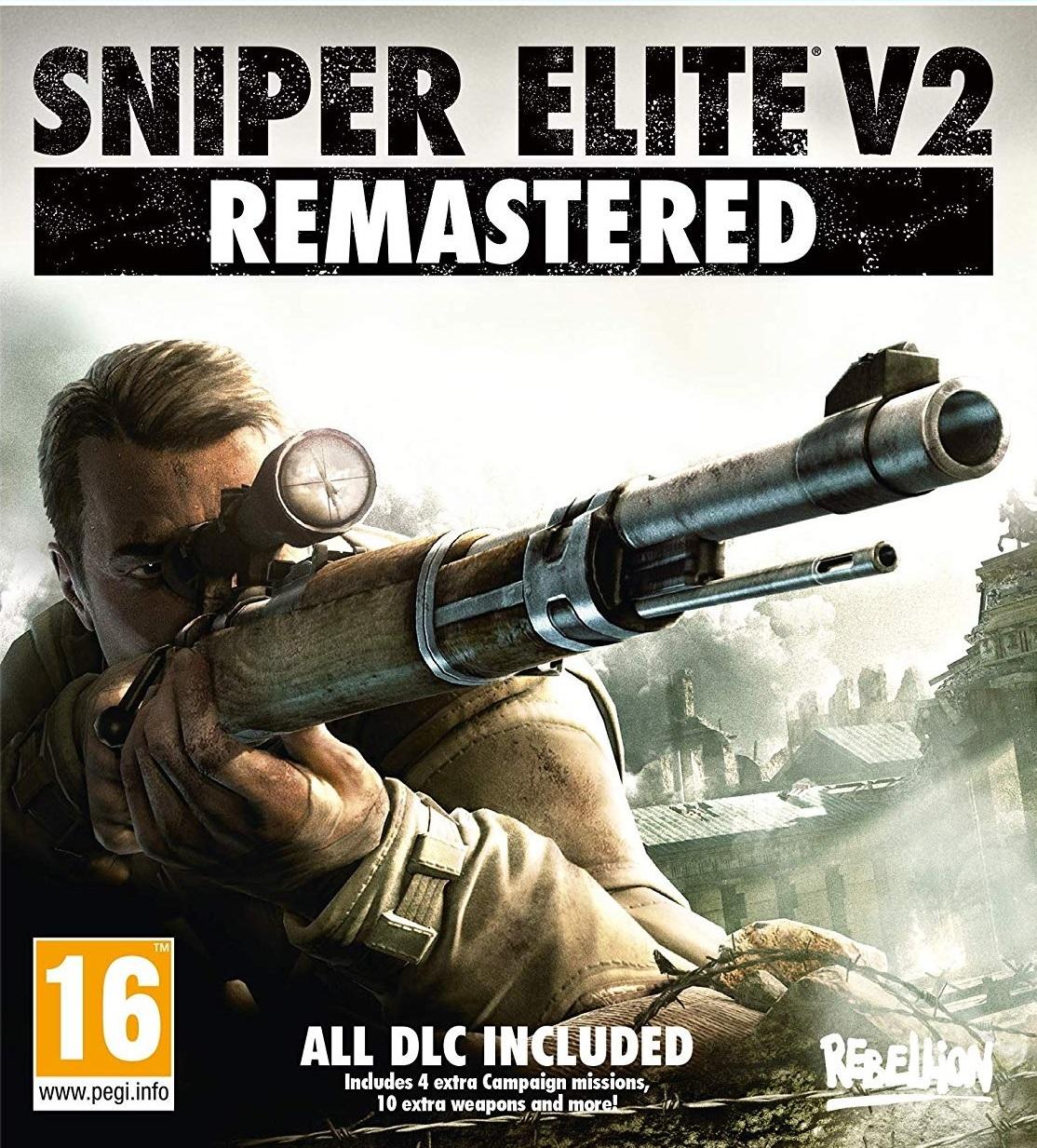 Sniper Elite V2 Remastered PC Cover Caratula