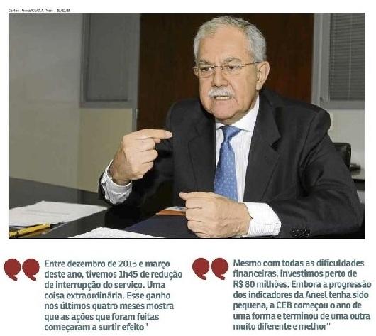 Presidente da CEB, Ari Joaquim da Silva