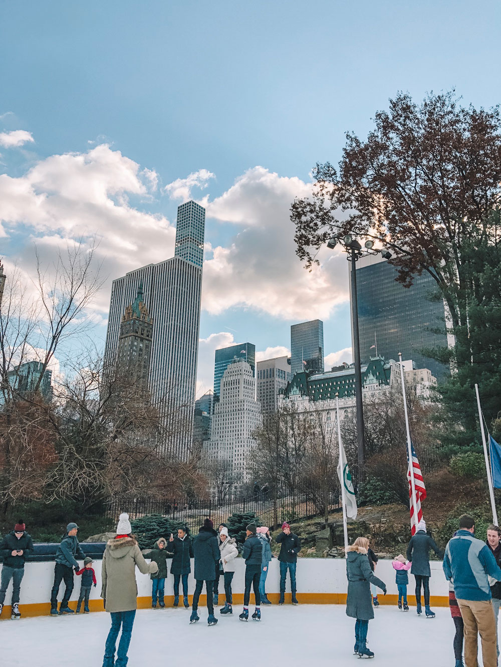 Most Instagrammable Spots in NYC: Wollman Ice Rink
