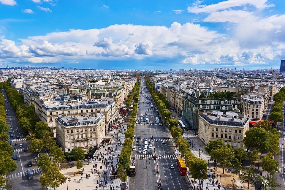 Champs-Élysées  Paris dos meus sonhos