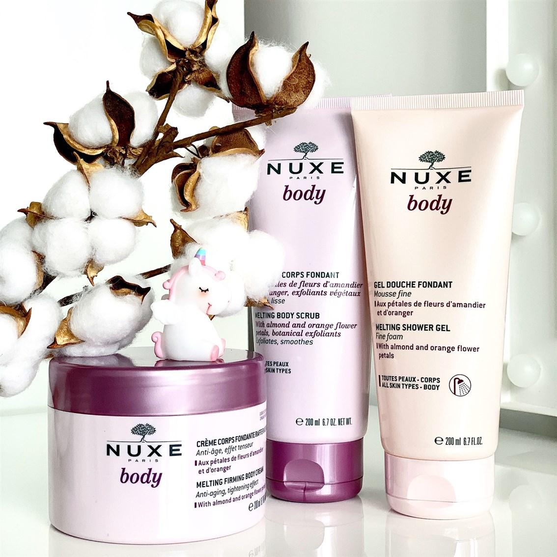 NUXE Body kosmetyki opinie blog