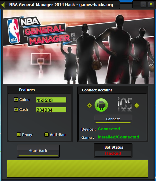 NBA General Manager 2014 Hack Tool Free Download