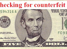 How to check for counterfeit money