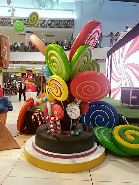 Adventure in Candy Land at the Boulevard Mall, Salmiya, Kuwait