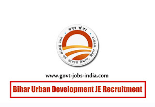 Bihar Urban Development JE Recruitment