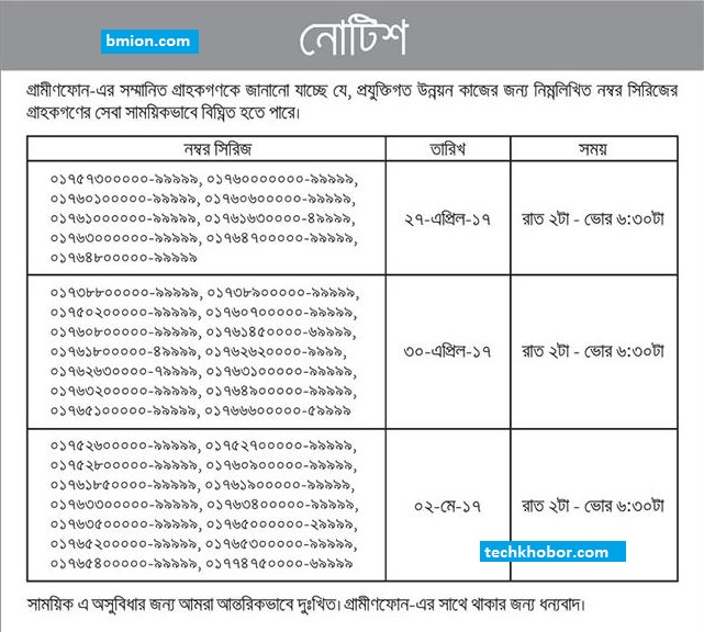 Grameenphone-gp-Important-Notice