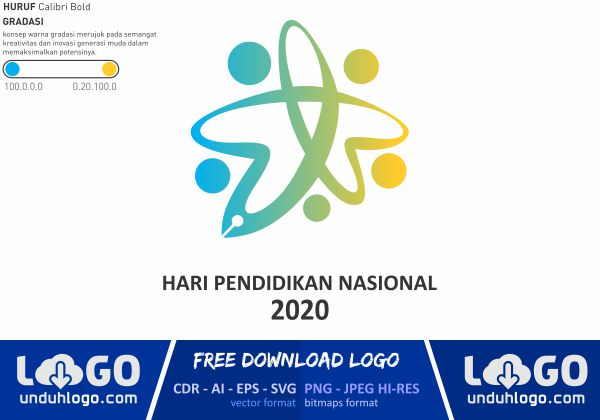 Logo Hari Pendidikan Nasional 2020