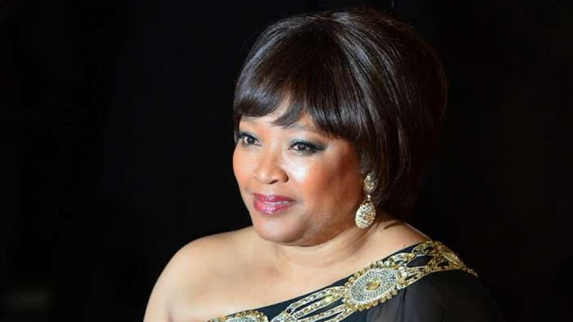 Zindzi Mandela burial day