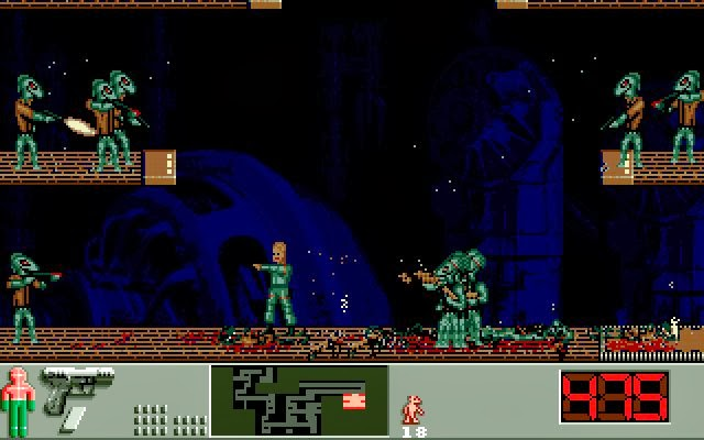 Indie Retro News: Enemy 2 - Here's another Amiga game to