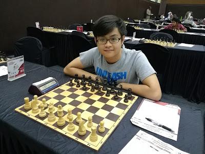 Ng Jen Sheng finished IIFL Wealth Mumbai International Open with 5/9
