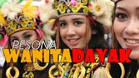 Pesona Kecantikan Wanita Dayak Kalimantan