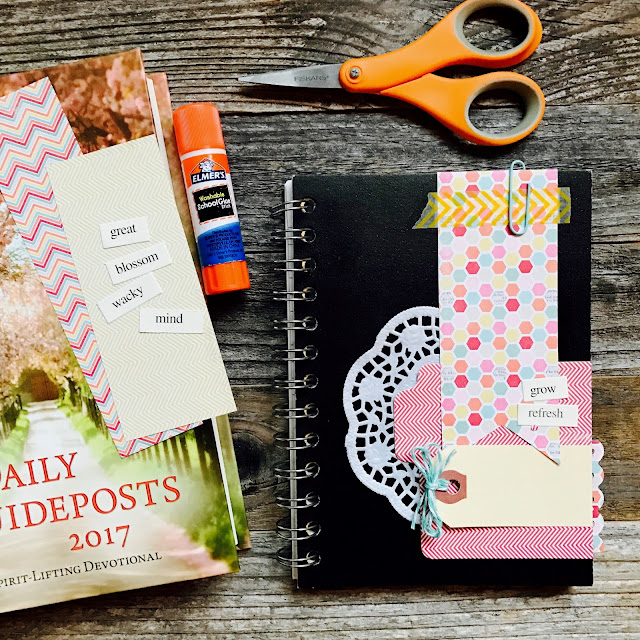 #journal #mini album #lists #notebook #devotional #iloveitall #papercraft