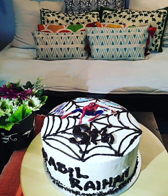 BIRTHDAY CAKE SPIDERMAN