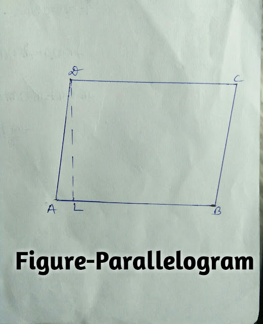 area of quadrilateral i