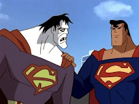 Supes and Bizarro from Superman: The Animated Series