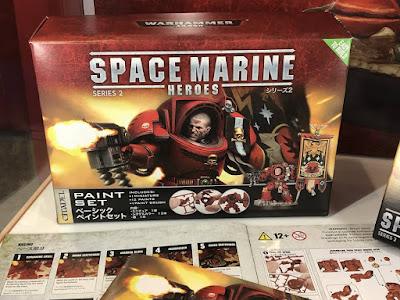 Space Marine Heroes 2 paint set