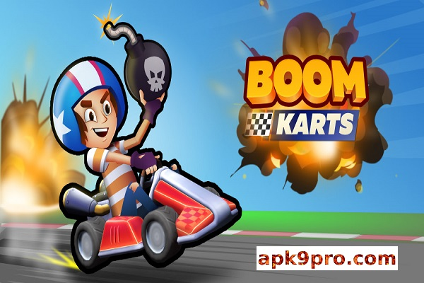 Boom Karts – Multiplayer Kart Racing v0.46 Apk + Mod (File size 131 MB) for android