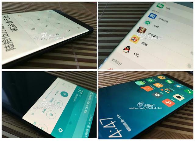 leaks of Xiaomi Mi Note 2