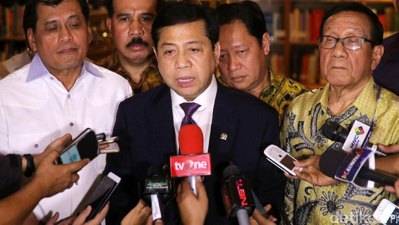 Setya Novanto, Dijerat KPK, di Praperadilan Tak Sandang lagi Status Tersangka